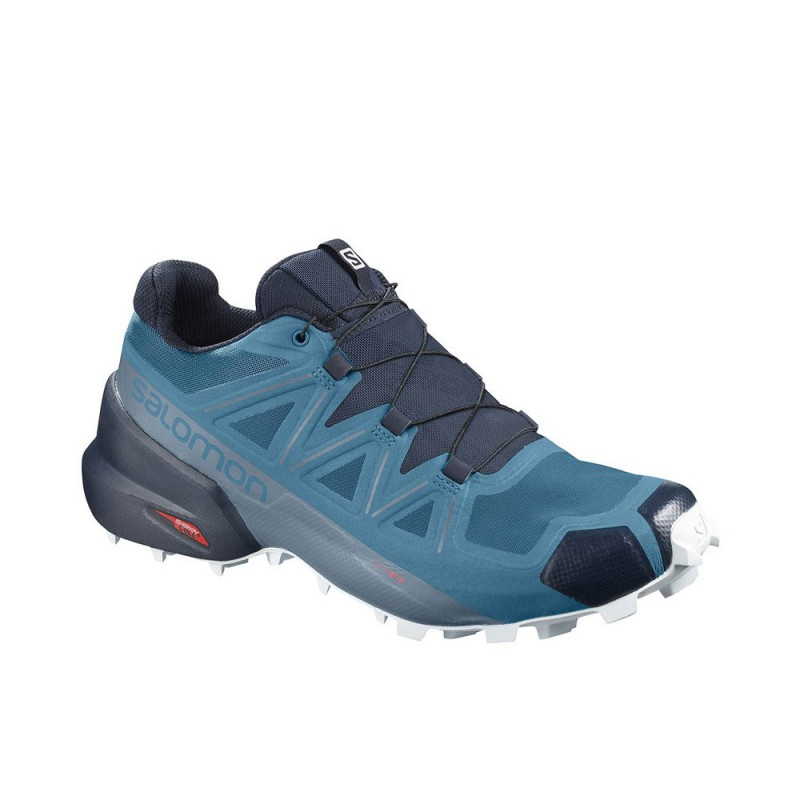 Scarpa da Trail Running Salomon Speedcross 5 Uomo Blu
