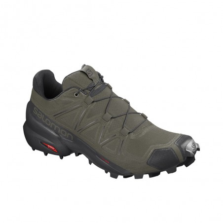 Scarpa da Trail Running Salomon Speedcross 5 Uomo Verde