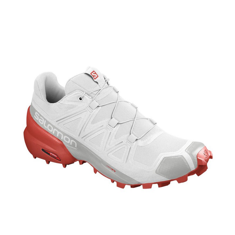 Scarpa da Trail Running Salomon Speedcross 5 Uomo Bianco