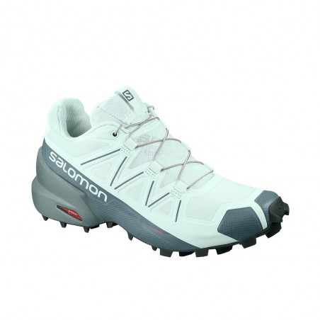 Scarpa da Trail Running Salomon Speedcross 5 Donna Azzurro
