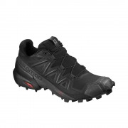 Scarpa da Trail Running Salomon Speedcross 5 Donna Nero
