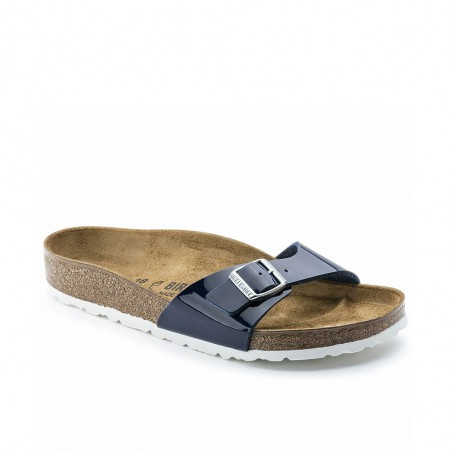 Ciabatta Birkenstock Madrid Donna Dress Blue Blu