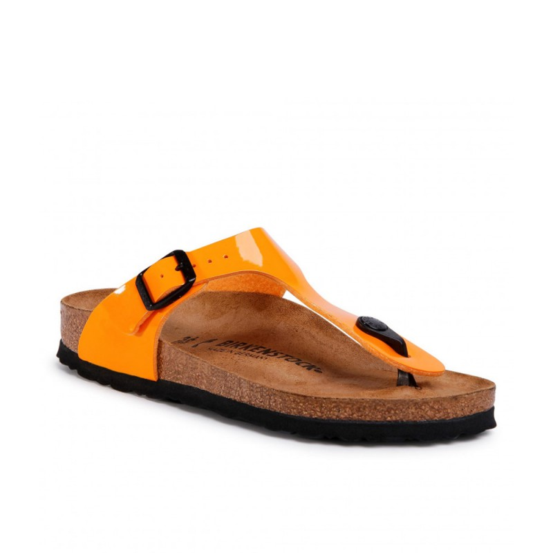 Ciabatta Birkenstock Gizeh Bs Donna Orange