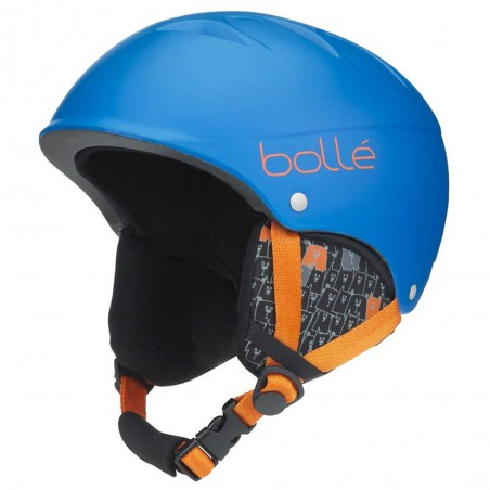 Casco da Sci Bollè B-Free Junior Matt Blue Animals