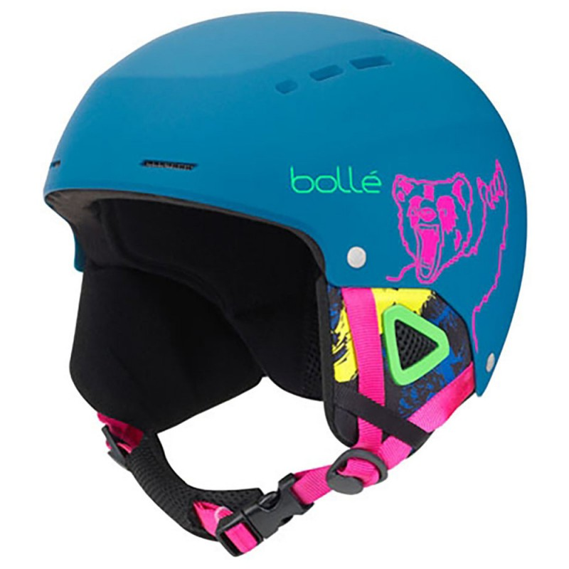 Casco da Sci Bollè Quiz Junior Navy Bear