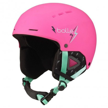 Casco da Sci Bollè Quiz Junior Matt Pink Flash