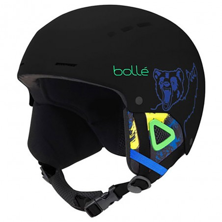 Casco da Sci Bollè Quiz Junior Matt black bear