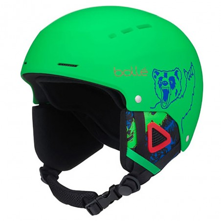 Casco da Sci Bollè Quiz Junior Matt Green bear