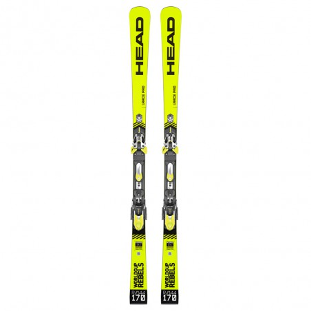 Sci Usato Head WC Rebels I.Race Pro + FF Evo 16 2020 Giallo
