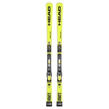 Sci Usato Head WC Rebels I.Speed Pro + FF Evo 16 2020 Adulto Giallo