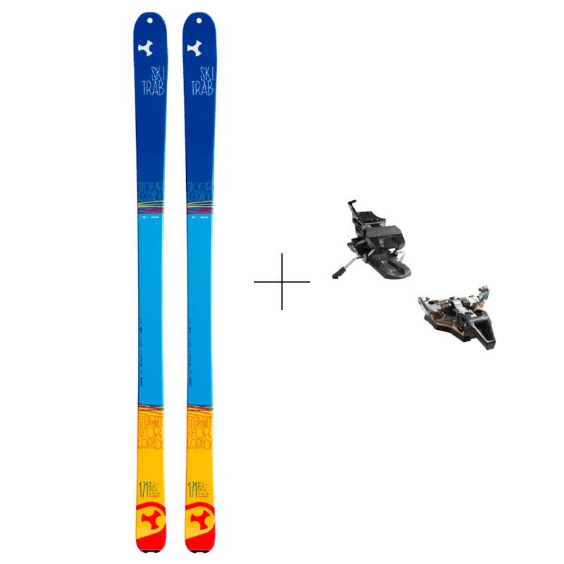 Completo Sci Alpinismo Usato Skitrab Tour Rando + Dynafit St Radical 2018 Adulto