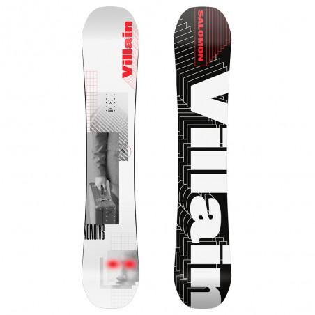 Tavola da Snowboard Salomon The Villain Bianco Nero