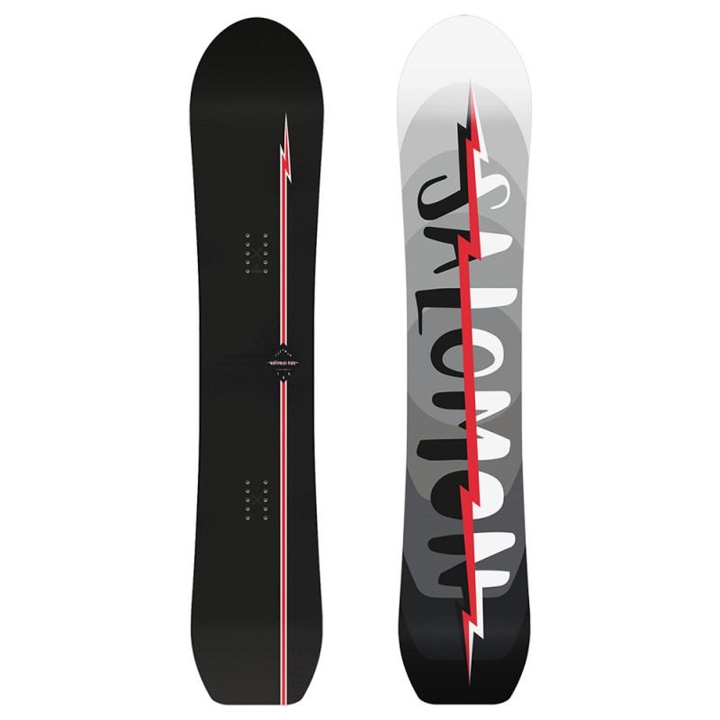 Tavola da Snowboard Salomon Ultimate Ride Nero Rosso