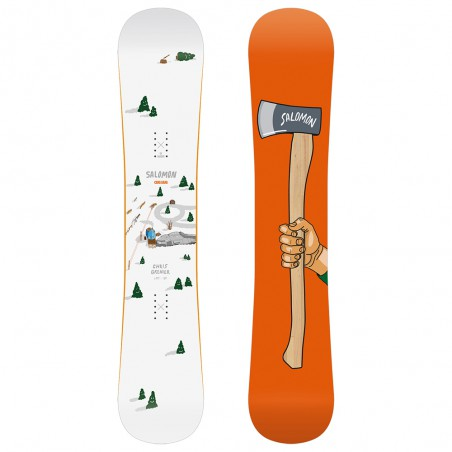 Tavola da Snowboard Salomon 6 Piece Bianco Arancione
