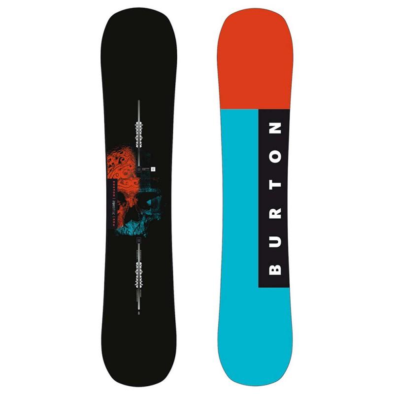 Tavola da Snowboard Burton Instigator Wide Nero Rosso