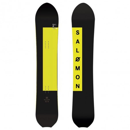 Tavola da Snowboard Salomon First Call Nero Giallo