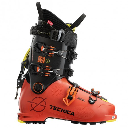 Scarpone Sci Alpinismo Tecnica Zero G Tour Pro Uomo Orange Black