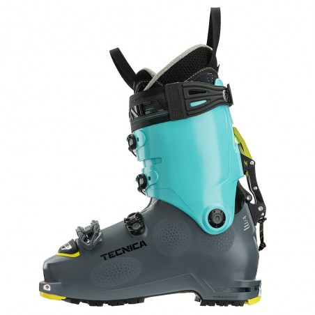 Scarpone Sci Alpinismo Tecnica Zero G Tour Scout Donna Gray Light Blue
