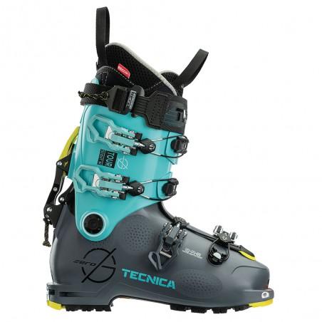 Scarpone Sci Alpinismo Tecnica Zero G Tour Scout Donna Gray Light Blue