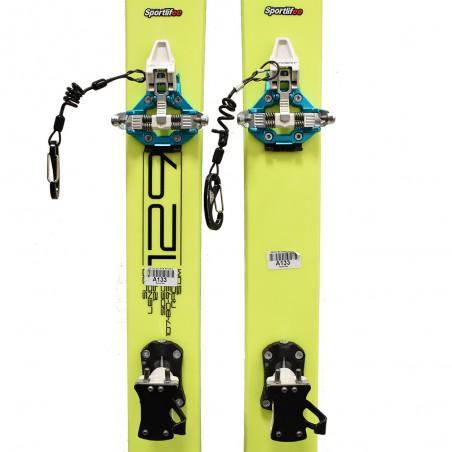 Completo Sci Alpinismo Usato Dynafit SL 80 + Dynafit Speed Turn 2.0 2020