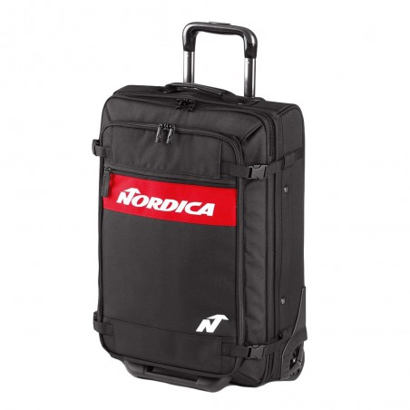Trolley Nordica Business Eco Fabric Black Red